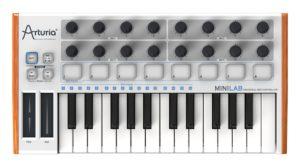 Arturia MiniLab 230401 25-Key Mini USB/MIDI Keyboard Controller