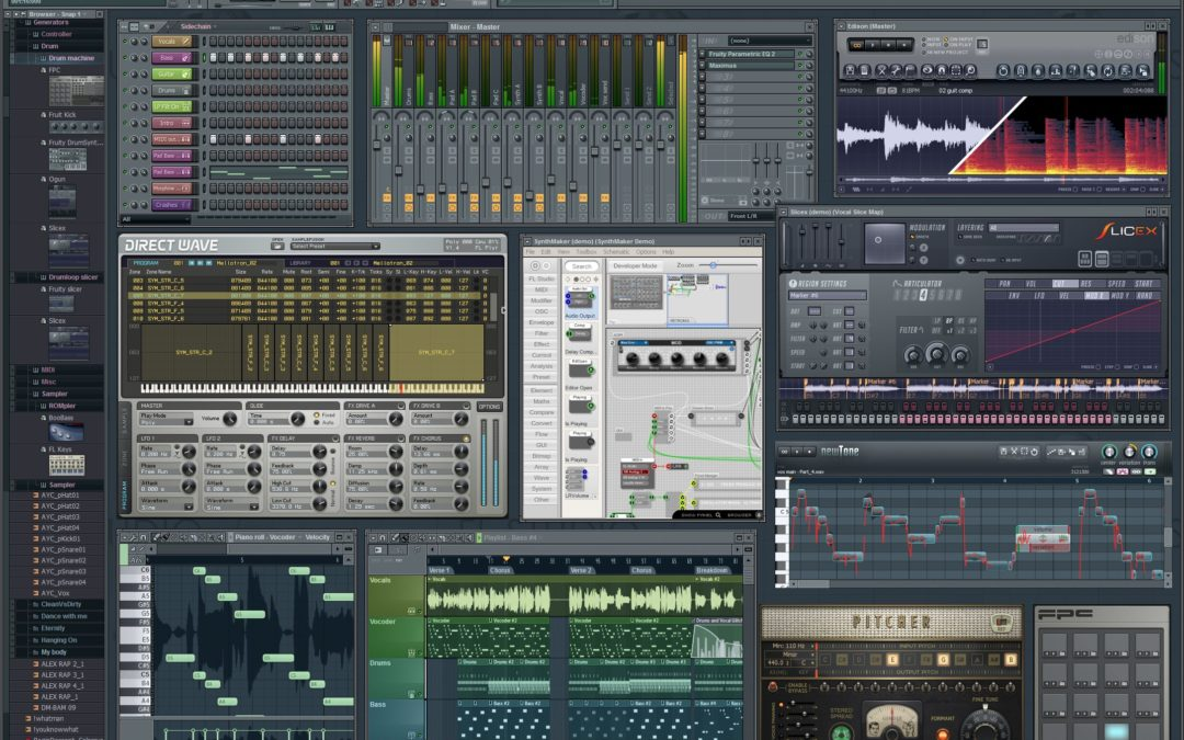 The Fascinating and Highly Functional Fruity Loops FL Studio Digital Workstation – Good for Everyone