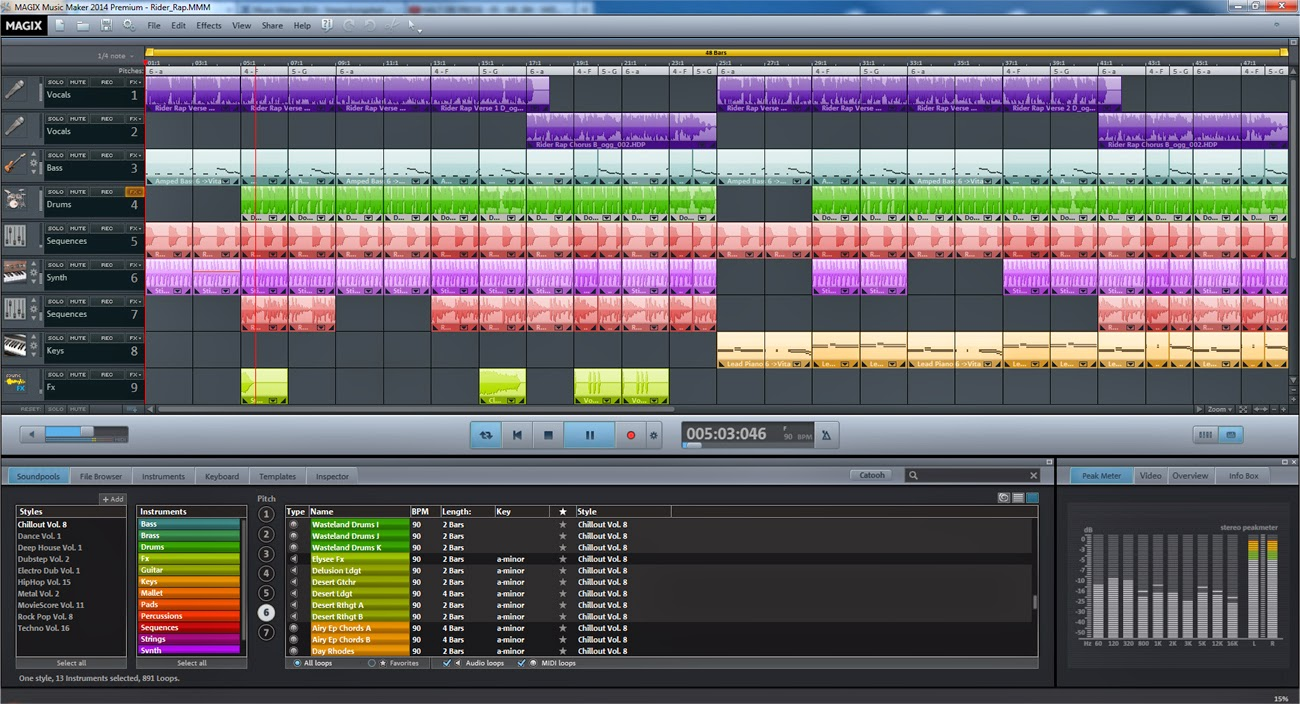 the benefits of Magix Music Maker