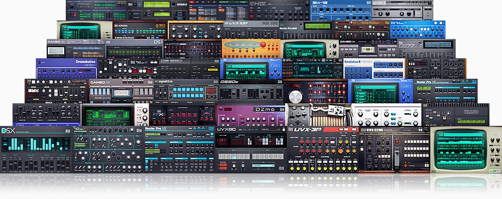 Unleash Timeless Creativity With the UVI Synth Collection. It's Music at its Best.