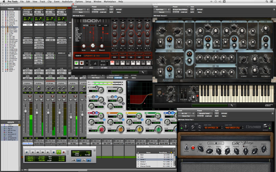 Join the League of Professional Studio Engineers with Pro Tools Software