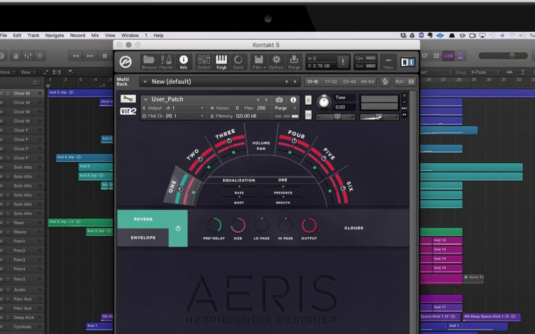 Experience the Power and Beauty of a Full Choir in Your Bedroom Studio with Vir2 Instruments