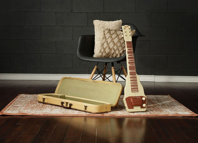 Lap Steel Guitar from the 1950s