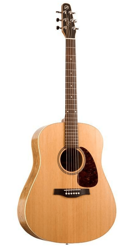 seagull guitars featuring Tapered Headstock for precise and stable tuning and great for open tunings