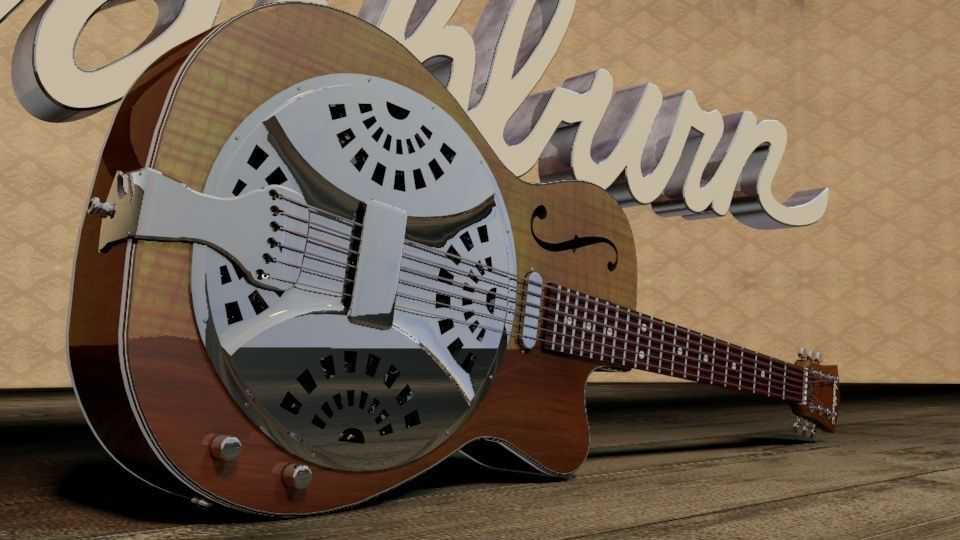 Resonator Guitar style from the owner