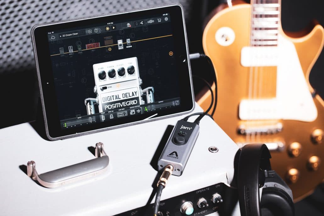 Electric Guitar and iPad