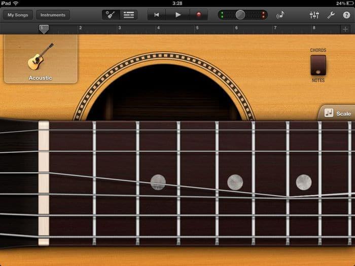 Image of guitar string