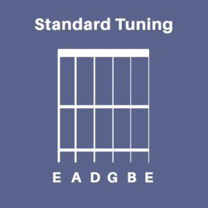 Standard Tuning for guitars