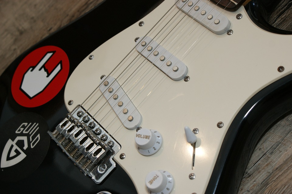 pickups are found on electric guitars only