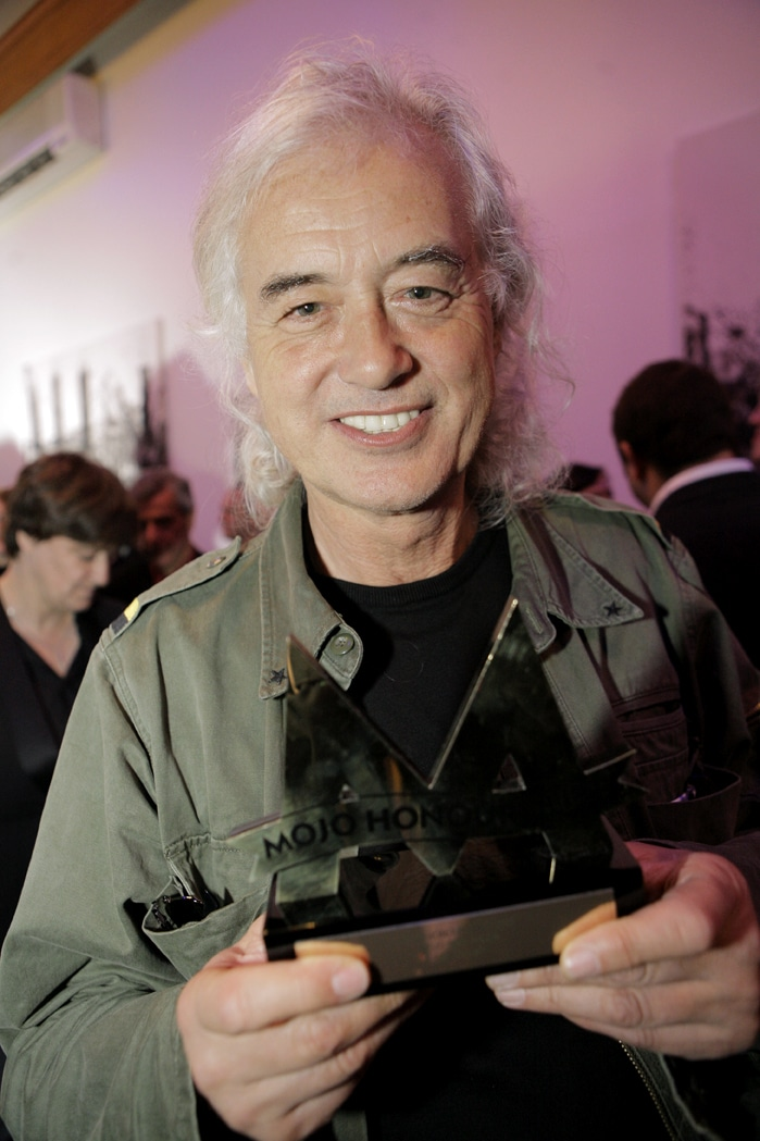 an international guitarist Jimmy Page